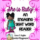 Black History Month~ Ruby Bridges Engaging Sight Word Reader