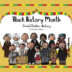Black History Month Social Studies - History Kindergarten 