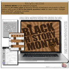 Black History Month Video Notes from history.com &amp; biography.com