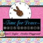 Black History Month~Time for Peace~ Math Centers for Older