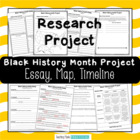 Black History Project: Essay, Map, and Timeline