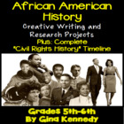 Black History Research and Creative Writing Project Choice