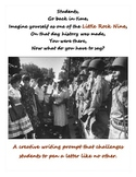 Black History Writing Prompt - The Little Rock Nine