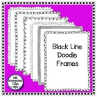 Black Line Doodle Frames