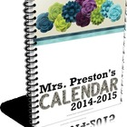 Black and White Themed 2014-2015 Personal Planning Calendar
