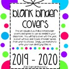 Blank Binder Covers