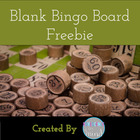 Blank Bingo Board