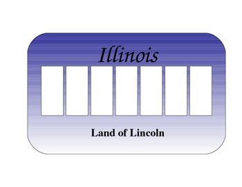 Blank Illinois License Plate