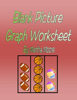 Blank Picture Graph Worksheet
