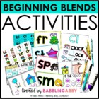 Blend Books {Word Work for Beginning Blends}