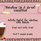 Blending Up A Great Smoothie Initial Blends Clusters Activity