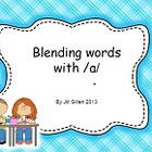Blending sounds to read - Kindergarten Lesson 1