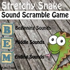 Blending with Stretchy Snake:  Sound Scramble Game
