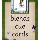 Blends Cue Cards - Pond Theme
