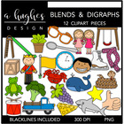 Blends &amp; Digraphs {Graphics for Commercial Use}