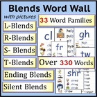 Blends:  Illustrated Phonics Word Wall
