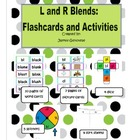 Blends: L and R Blend Flashcards and Activities
