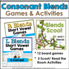 Blends Scoot Games: L- Blends and R- Blends