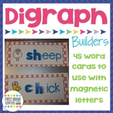 Digraphs Word Building Mats {sh, ch, th, wh, ph}