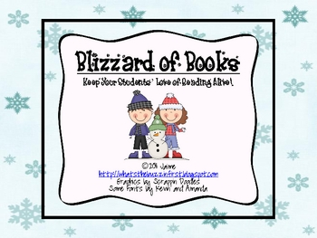 Blizzard of Books {A Reading Incentive}