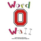 Block O Word Wall