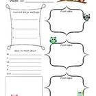Blog Planning Sheet