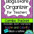 Blog &amp; Store Organizer / Planner for Teachers (Teacherpren