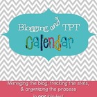 Blog and TPT Calendar { Resource Binder }