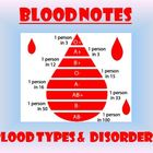 Blood Notes - Blood Types and Blood Disorders Powerpoint P