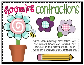 Blooming Contractions