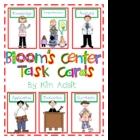 Bloom's Center Task Cards