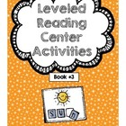 Bloom's Leveled Reading Center Booklet 3