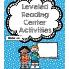 Bloom's Leveled Reading Centers Booklet 4