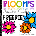 Bloom&#039;s Question Cards FREEBIE - Boom&#039;s Taxonomy