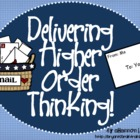 Bloom&#039;s Taxonomy Class Posters (&quot;Delivering&quot; Higher Order 