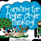 Bloom&#039;s Taxonomy Class Posters (&quot;Farm&quot;ing for Higher Order