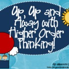 Bloom&#039;s Taxonomy Class Posters (&quot;Up, Up, and Away with Hig