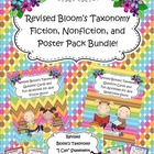 Bloom's Taxonomy Fiction Activities, Nonfiction Activities