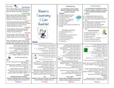 "Bloom's Taxonomy ""I Can"" Mini Booklet"