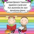Bloom's Taxonomy Questions & Fun Activities to Use with An
