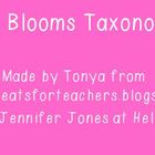 Blooms taxonomy Clouds