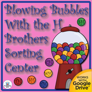 Blowing Bubbles with the H Brothers Center! TH, SH, CH, WH