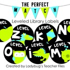Blue and Green Leveled Library Labels (The Perfect Match)