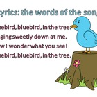 Bluebird - A Rhythm, Melody and Instrument Activity for Ki