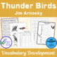 Bluebonnet Vocabulary: Thunder Birds