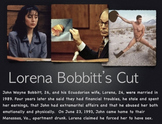 Bobbitt Trial, Powerpoint Presentation, Mutilation as Defe