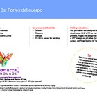 Body Parts Spanish Lesson (3s) - Partes del cuerpo