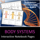 Body Systems For Interactive Notebooks Activity