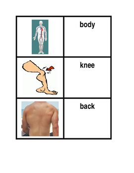 Body in English concentration game