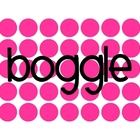 Boggle Board Header and Letter Cards
